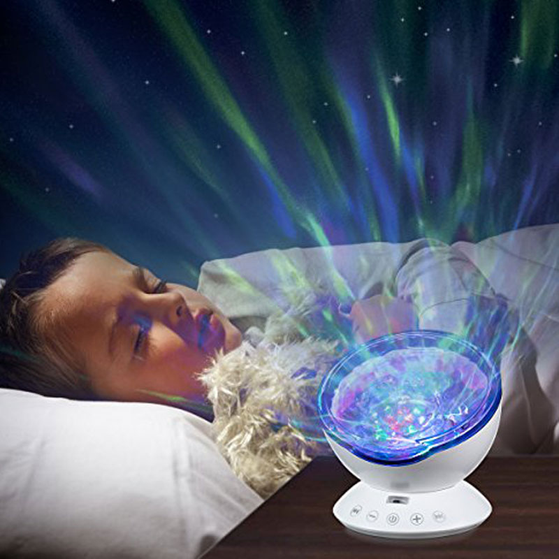wave light projector  โคมไฟ